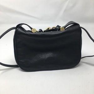 MaxMara Black Leather Bag